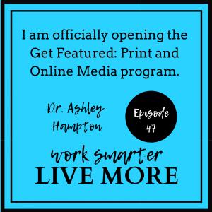 Podcast - Dr  Ashley Hampton